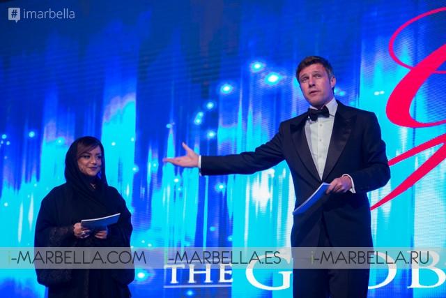 III The Global Gift Gala Dubai on December 12, 2015