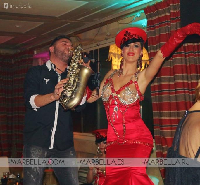 Празднование Старого Нового года в Finca Besaya в Марбелье