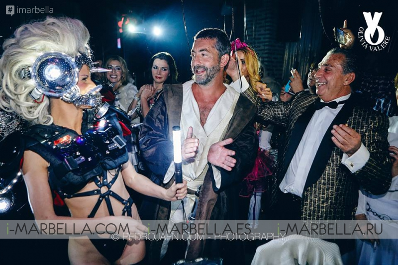 Arno Valere's Birthday 2016 @ Olivia Valere Club: Magic Gallery