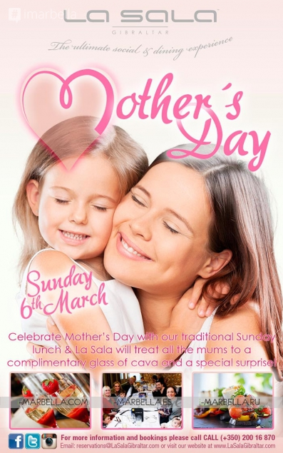Mother's Day @ La Sala Gibraltar