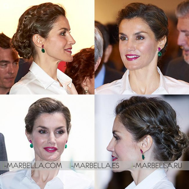 Queen Letizia Looks Every Inch a Beauty Icon for Art Fair Visit