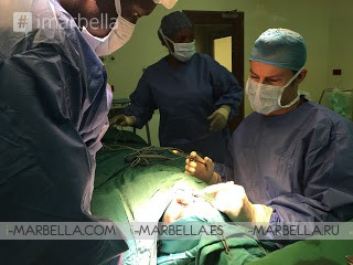 Showing Them How It's Done – Dr. Kaye Showcases Skills in Kenya