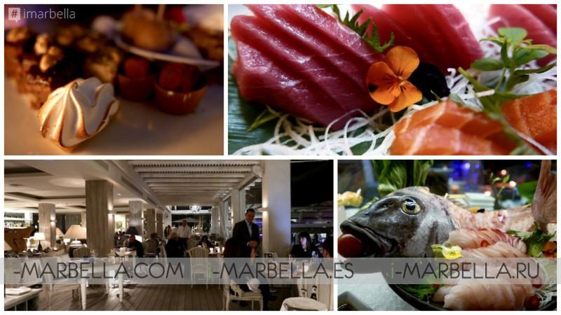 Supper at Sea Grill, Puente Romano, Marbella in Pictures