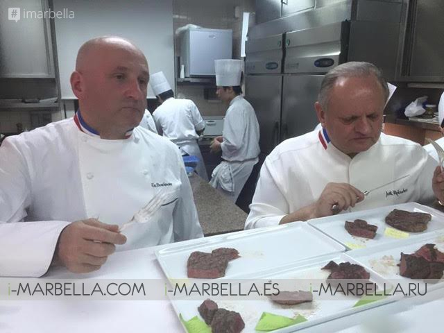 A Cuatro Manos 2016 in Marbella: 'Chef of the Century' Joël Robuchon  71 Michelin stars