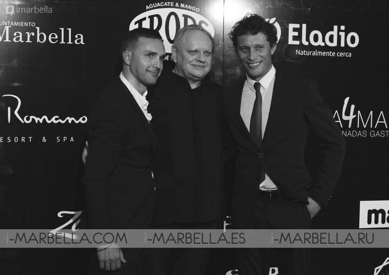 A Cuatro Manos 2016 in Marbella: 'Chef of the Century' Joël Robuchon  71 Michelin stars