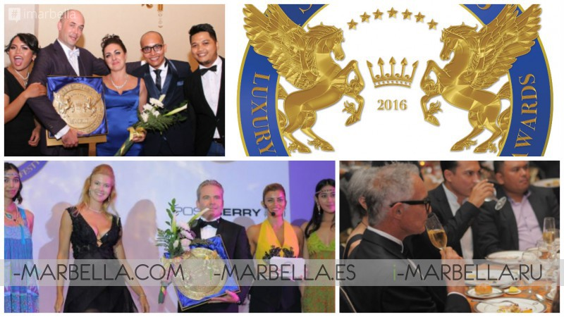 Seven Stars Luxury Hospitality and Lifestyle Awards 2016 in Marbella