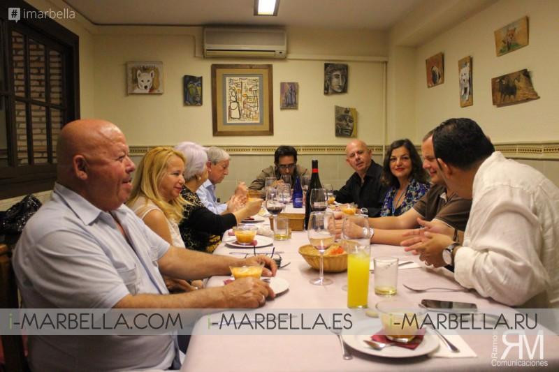 Almuerzo de Prensa en Bodegón Pajarete