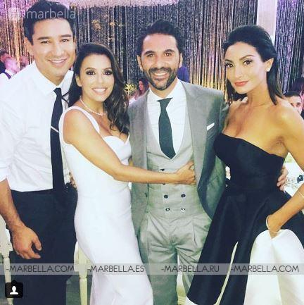 Eva Longoria and José Antonio Bastón Are Married!