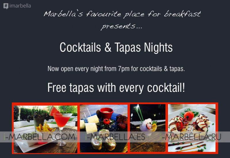 Pan & Mermelada's Cocktails & Tapas Nights
