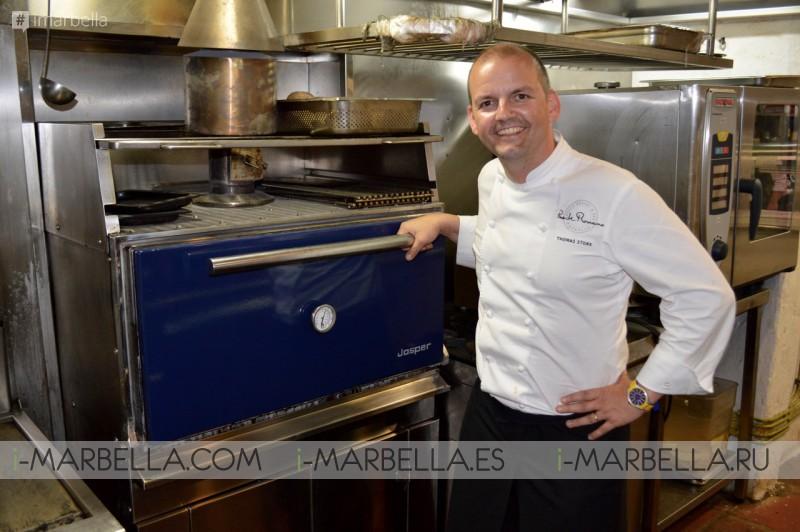 Marbella Chefs Exploring Del Mar's JOSPER Oven