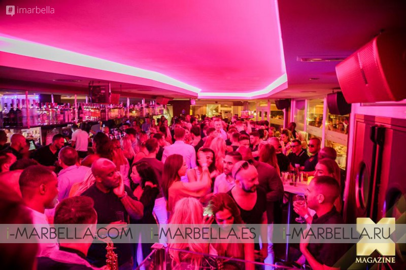 La Sala Puerto Banus Parties with Megan McKenna on May 26, 2016