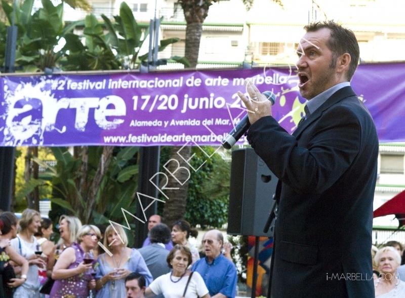 GALERÍA:Se inaugura el segundo festival de Arte en Marbella