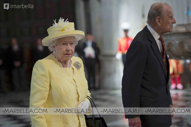 Royal Family Gather for Service Celebrating Queen's 90th