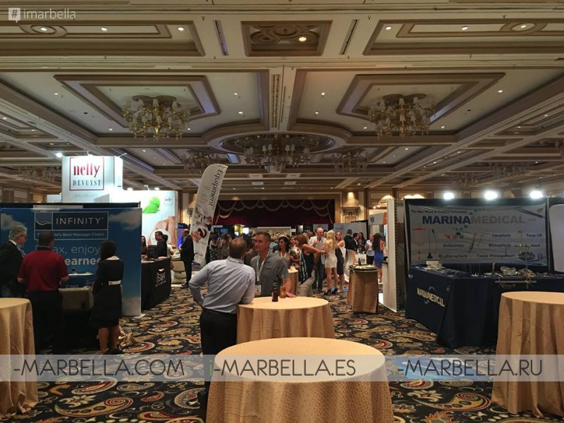 Ocean Clinic Marbella's Dr. Kaye at the Vegas Cosmetic Surgery Meeting in Las Vegas