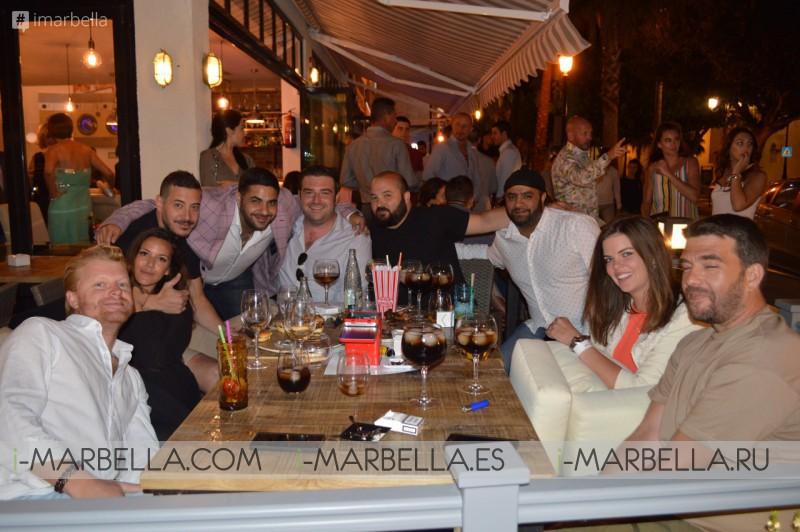 Открытие нового ресторана The Launderette в Марбелье
