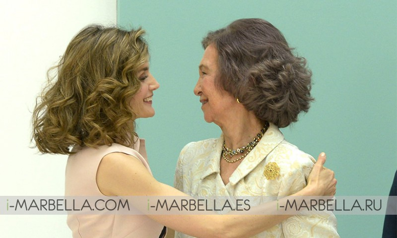 Queen Letizia's Sweet Embrace with Mother-in-Law Queen Sofia