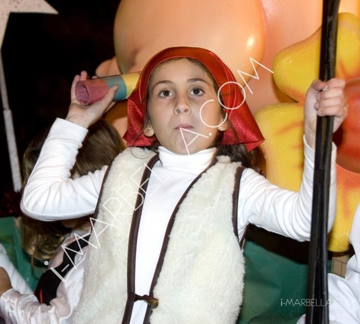 GALLERÍA:Noche mágica con los tres Reyes Magos en Marbella