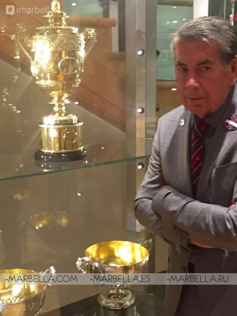 Manolo Santana Celebrates 50 Years After Wimbledon Triumph