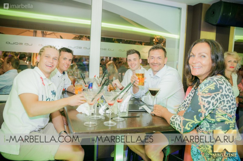 01.07.2016 в ресторане La Sala Puerto Banus