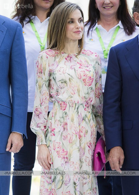 Queen Letizia and King Felipe Attend Rod Stewart Concert in Madrid