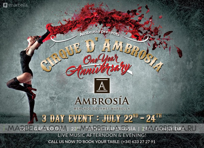 Ambrosia Presents Cirque D'Ambrosia: Three Day Event