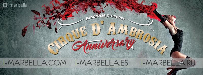 Ambrosia Presents Cirque D'Ambrosia: Three Day Event