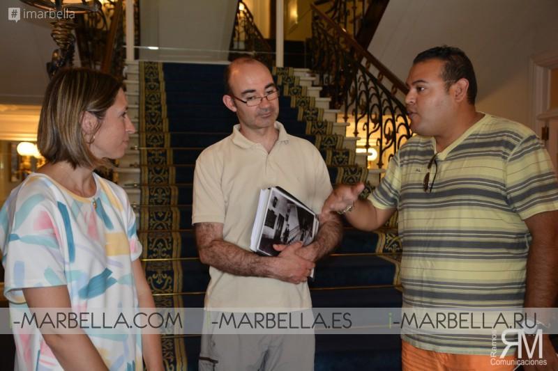 El presentador Félix Ramos, ha sido invitado a conocer la tierra del marisco y del famoso vino blanco Albariño