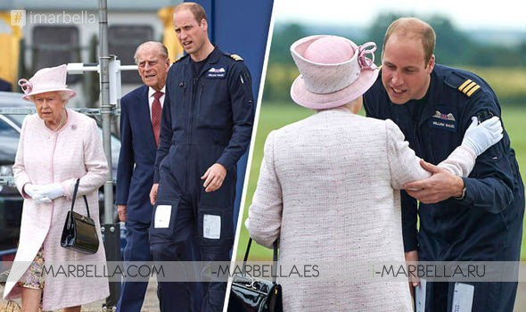 Queen and Prince Philip Visit William as Тhey Оpen New Air Ambulance Base