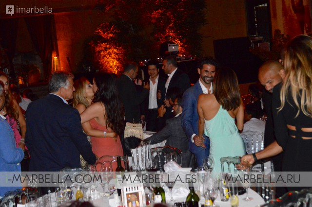 Eva Longoria and Pepe Baston in Love in Marbella 2016