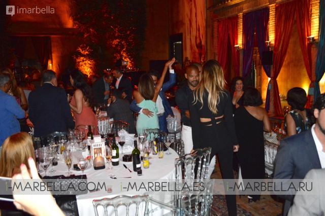 Eva Longoria and Pepe Baston in Love in Marbella 2016
