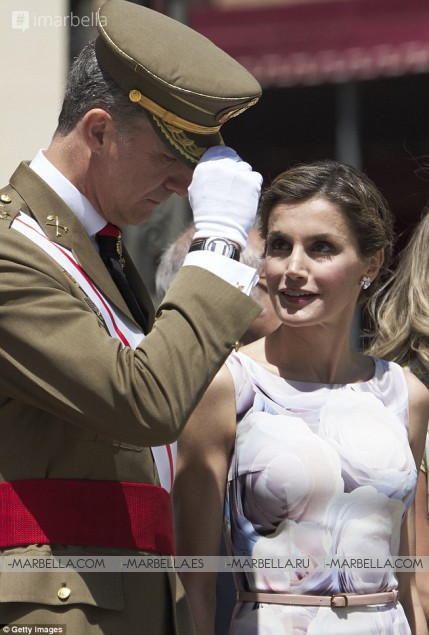 Queen Letizia Attending the National Fashion Awards ceremony in Madrid