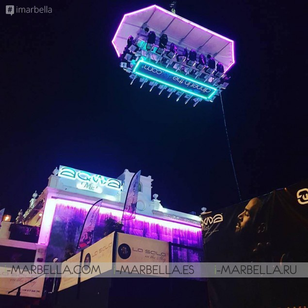 Annika's Blog: La Sala in the Sky in Marbella 2016