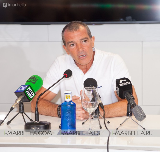 Exclusive Video Featuring Antonio Banderas on Selected Homme