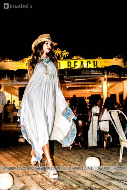 Caroline Azzi & Lytsya Fashion Showroom @ Siroko Beach