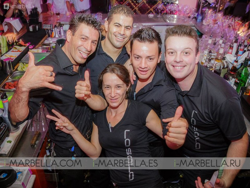 La Sala Puerto Banus Enjoys September's First Weekend