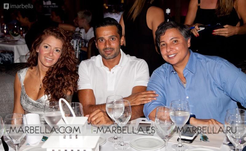 Sara Al Mutairi Celebrates her Birthday in Marbella @ Babilonia Olivia Valere on September 3, 2016