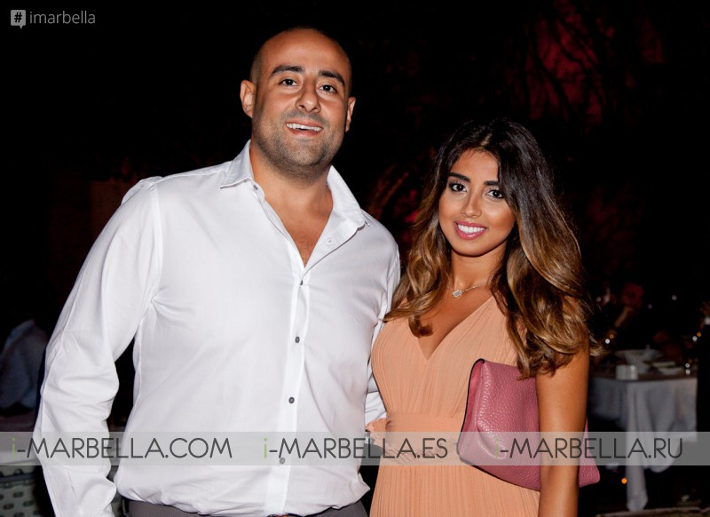 Sara Al Mutairi Celebrates her Birthday in Marbella @ Babilonia Olivia Valere on September 3, 2016