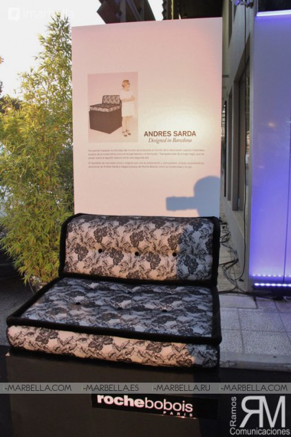 Iconic Roche Bobois from Paris Comes to Marbella