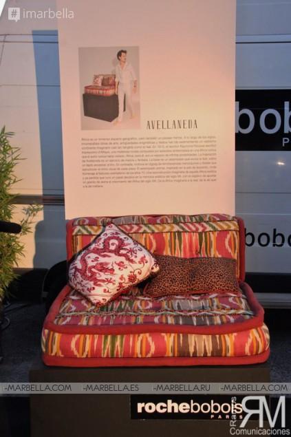 Iconic Roche Bobois from Paris Comes to Marbella