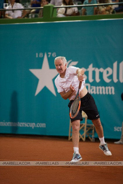 Senior Masters Cup 2016: McEnroe vs. Wilander