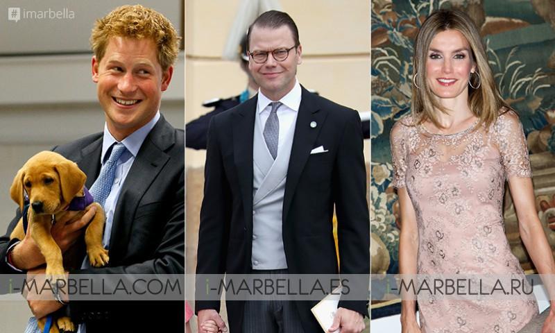 Happy Birthday to Prince Harry, Prince Daniel, and Queen Letizia!