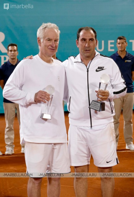 Senior Masters Cup 2016: Costa vs. McEnroe