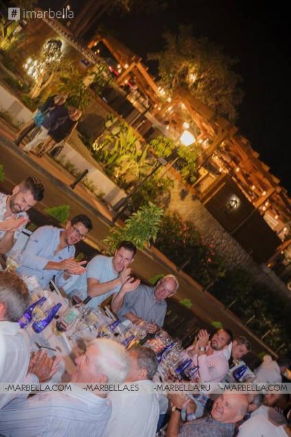 Вечеринка после премьеры Golden Years в ресторане La Sala Puerto Banus 1.10.2016