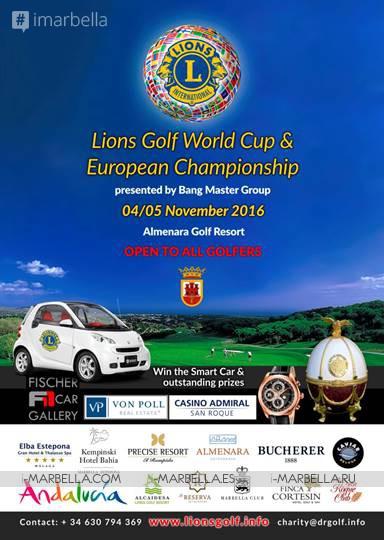 Lions Golf World Cup & European Championship 2016