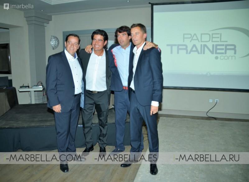The Padel Trainer Platform Presentation @ Puente Romano Beach Resort & Spa on November 16, 2016