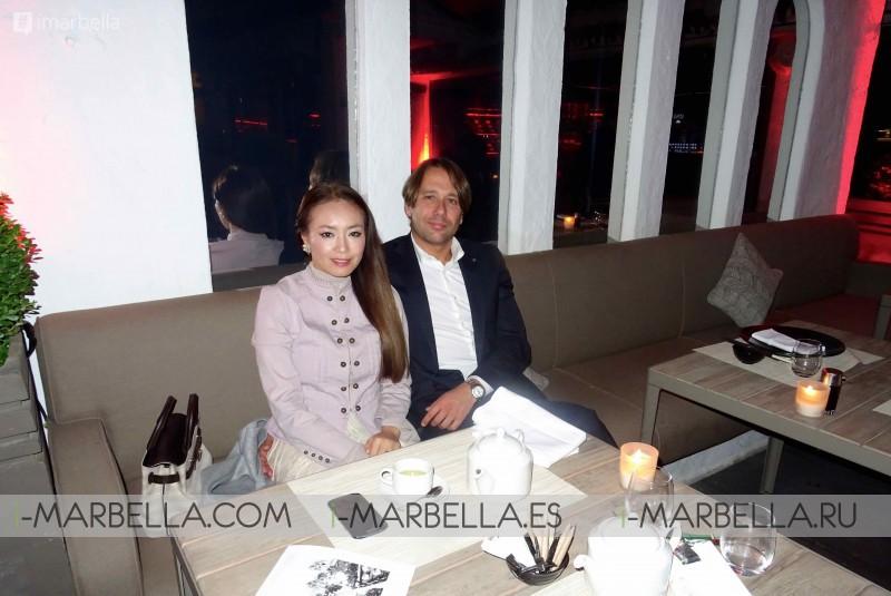 Saeko Hamada Romantic Birthday with Husband at UNI