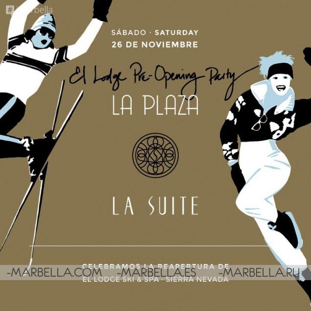El-Lodge Pre-Opening Party @ La Suite and La Plaza on November 26, 2016