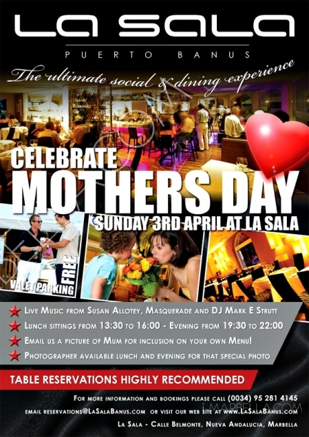 Mother's Day at La Sala
