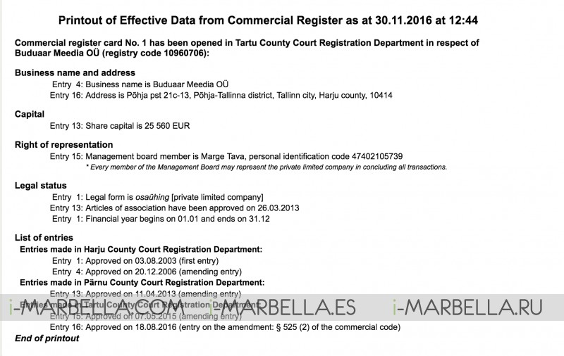 According to a verdict, Marge Rahu owes the Tax Office 200,000 euros