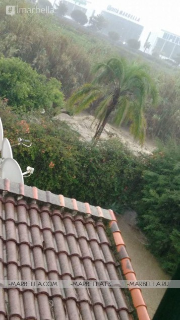 Flash floods turn Costa del Sol into red alert disaster zone